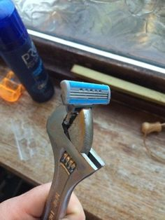 As if Shaving Needed to be Any Manlier