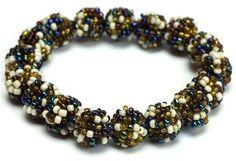 #Beaded Stretch #Bracelet Monaco #jewelry