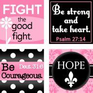 Pixel Berry Pie Designs: Printable Freebie: Hope for the Strong Woman