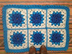 Try this granny square rug in Fettucini. Pattern by Creative Jewish Mom.