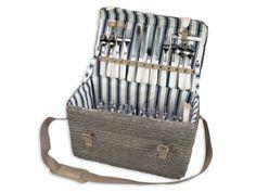Lege Picknickmand Ardeche (4 personen) - Picknick Manden - Luxe voor vrouwen - Shop - Het Luxe Leven - Pimp up your Lifestyle!