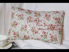Cómo hacer un cojín vintage sin cremallera - Vintage cushion - YouTube