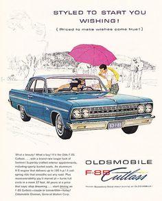 1962 Oldsmobile F-85 Cutlass Coupe