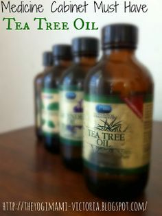 Healing benefits of Tea Tree Oil.