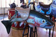 helena carousel trout carousel trout, carousel anim, helena carousel