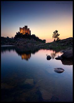 Almourol Castle  #Portugal
