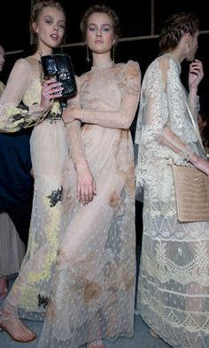 How To Wear Lace For Spring Summer 2012