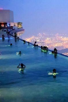 Marina Bay Sands Sky Park in Singapore