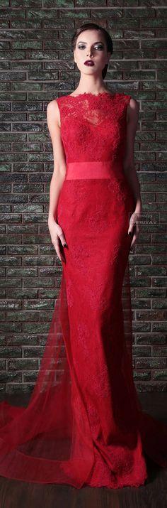 Lady in RED...Rami Kadi .F-W 2013-2014.