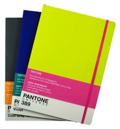pantone a4 sketchbooks.