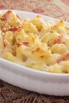 Croque Monsieur Mac and Cheese with Ham Recipe