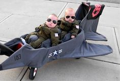 Top Gun Costume. click on the picture and there are TONS of funny costumes for babies. This is hilarious!