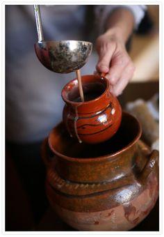 mexican hot chocolate for dia del muertos