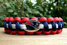 new england patriots paracord bracelet