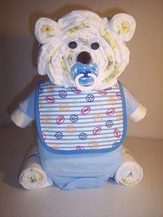 Nappy Art: 23 Diaper Cakes to Dazzle Your Shower Guests   POPSUGAR Social