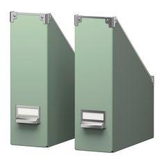 KASSETT Magazine file - green  - IKEA