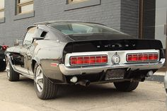 1968 Mustang Shelby GT500