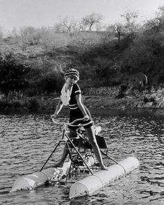 hollywood rides a bike, #bike