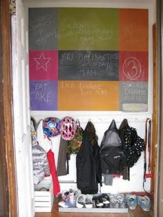 colored chalkboard paint