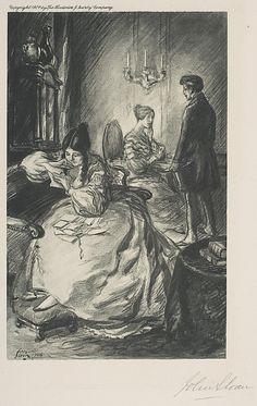 John Sloan, (American, 1871–1951). Love Letters, 1904. The Metropolitan Museum of Art, New York. Gift of Mrs. Harry Payne Whitney, 1926 (26.30.148)