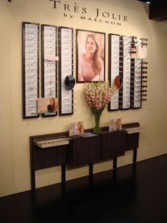 Locking Eyeglass Frame Displays : optics on Pinterest Store Design, Eyewear and Eye Facts