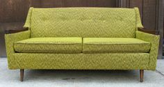 Jetson's Green Couch