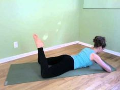 Core Exercise For Glutes - Frog Legs