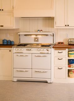 The cupboard to the right of the stove.   1920's kitchen style | 1920's Historic Kitchen - traditional - kitchen - seattle - by Sadro ...