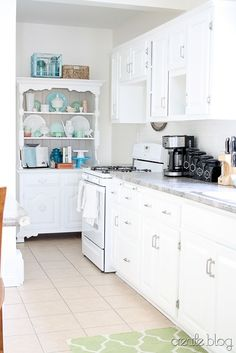 White Kitchen Remode