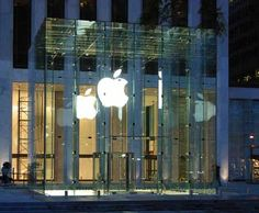 Apple's Glass Cube, Fifth Avenue: A transparent future?