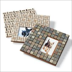 idea, craft, tiles, photo frame, custom tile, frames, tile pictur, pictur frame, tile photo