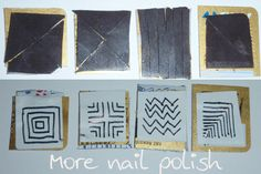 More Nail Polish: How to make your own nail art magnets