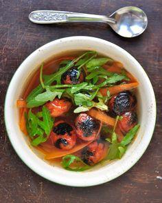 Vegetable Salad Soup Recipe   SAVEUR