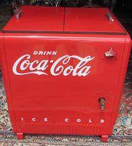 Coke machines on pinterest vintage coke vintage coca for 1 door retro coke cooler