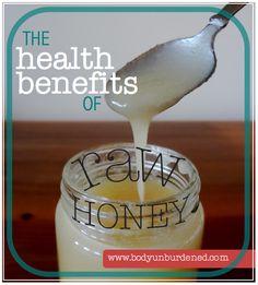 The health benefits of raw honey