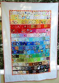 crafterhours: I Spy: A Completed Quilt