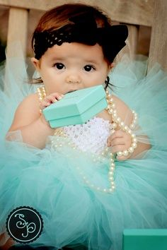 Tiffany Jewelry Outfit... if I ever have a girl. Because they should know that they deserve from a young age.