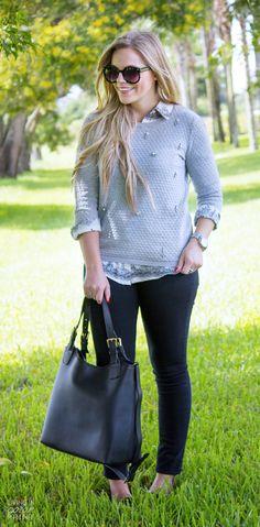 Jeweled Sweater | @searsStyle #SearsStyleFind #TheNewMetaphor
