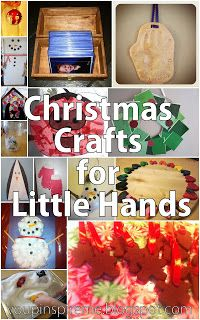 . You Pinspire Me .: Christmas Activities For Little Hands