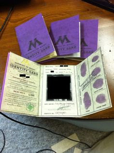 Ministry of Magic ID card from Craft Your Fandom