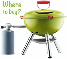 fyrkat portable picnic gass grill by Bodum