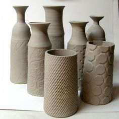 clay, thrown vase, wheels, potteri idea, pottery