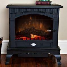 Creative RV fireplace installation