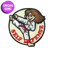 Self Defense Fun Patch. Girl Scout Patches. See more on PatchFun.com!