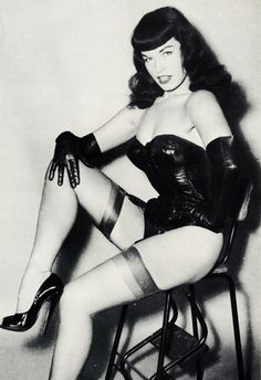 """Bettie Page, the """"Queen of Pinups"""", suffered a nervous breakdown at age 56 and was diagnosed with Schizophrenia. She was found Not Guilty by reason of Insanity after an assault on her landlord and was institutionalized for 8 years in a state mental hospital."""