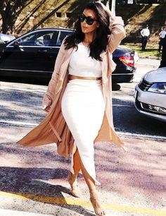Kim Kardashian's style is Perfect.