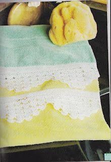 SANDRA CROCHET: bordures
