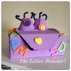 Alphabet Games for Preschoolers: The Letter Monster!