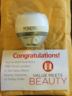 Free Pond's product