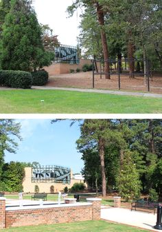 Visit the Atlanta History Center! Check out before and after view of the AHCs recently expanded Veterans Park. #atlanta #thingstodo #AHC